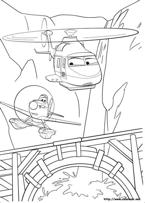 Kleurplaten Planes 2 Printen by Dibujos Para Colorear De Aviones Equipo De Rescate