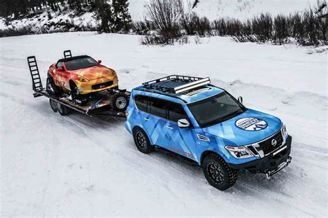 Nissan Car 370z Snow by Get Your Snow Drift On With The Nissan 370zki Snowmobile