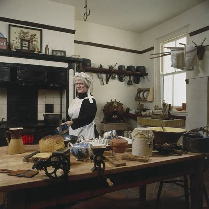 A Victorian kitchen display. This shows a at Science and