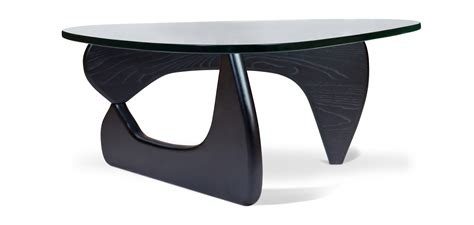 noguchi style coffee table noguchi style coffee table 19mm glass top with walnut