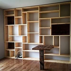 Dco Salon Bibliothque Sur Mesure