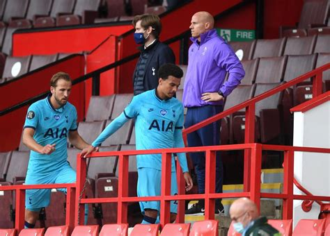 Mourinho confirms small hamstring injury for Dele Alli