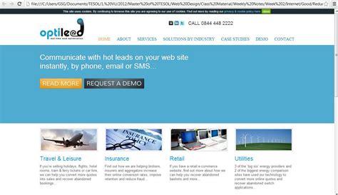 week  examples  bad  good websites interactive