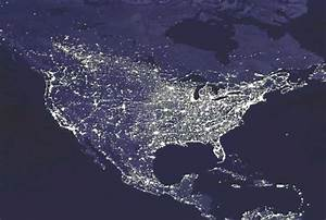 NASA - Top Photo - Earth's Night Lights - August 15, 2003