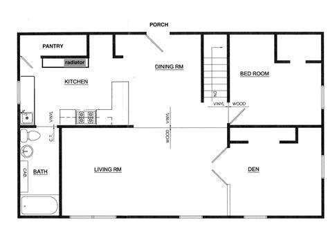 a house floor plan floor plans this house