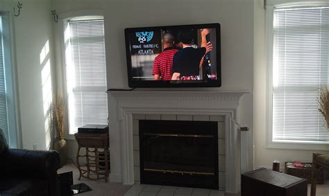 fireplace tv mount richeygroup home theater installation page 3