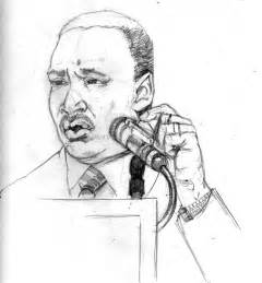 Martin Luther King Sketch