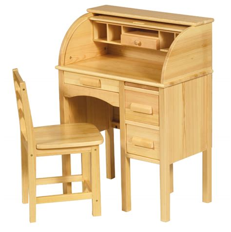Secretarys Desk Chair by Guidecraft Child S Wooden Jr Roll Top Desk Children S