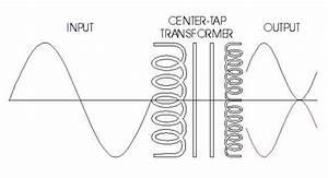 Center Tap Transformer Electrical Diagram