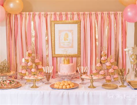 pink and gold birthday themes princess birthday quot kate s pink and gold princess