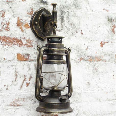 wall light antique vintage style thrift retro lantern wall