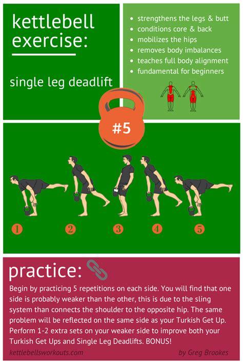 kettlebell leg single deadlift hip exercise stability swing hinge core kettlebellsworkouts exercises dynamic type training swings particular preparation improve excellent