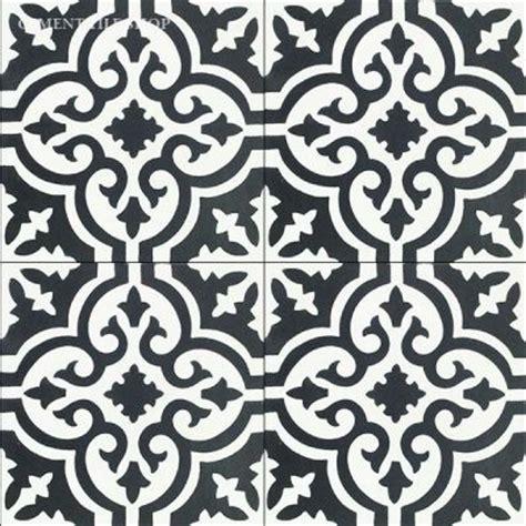 black and white cement tile cement tile shop handmade cement tile bordeaux