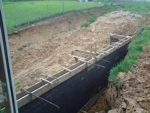 Fondation Mur Parpaing : cr ation d 39 une terrasse en bois sur mur en parpaing banch ~ Premium-room.com Idées de Décoration