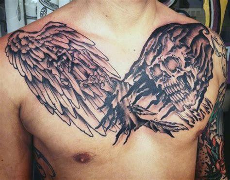 grim reaper tattoos  men merchant  death designs