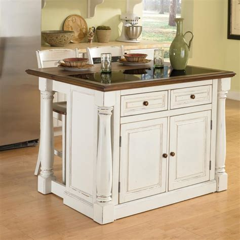 home styles monarch kitchen island  granite top ebay
