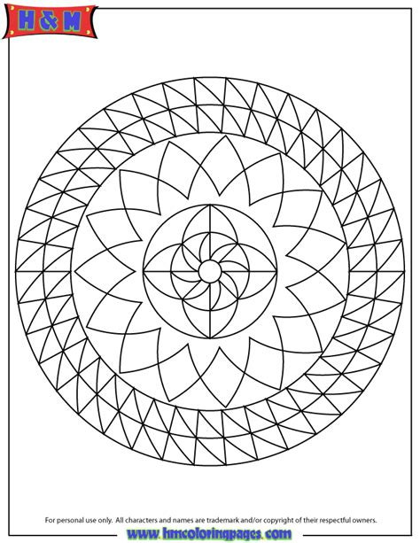 mandala geometrical drawing coloring page   coloring
