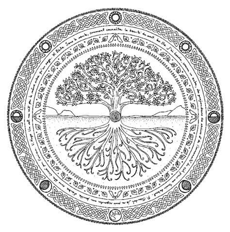 mandalas tattoos tatouage arbre de vie arbre de vie