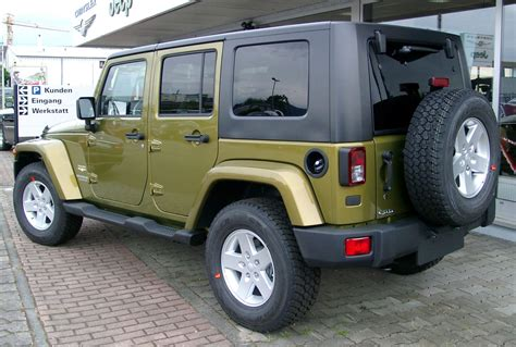 lowered jeep wrangler unlimited file jeep wrangler unlimited rear 20080521 jpg wikimedia