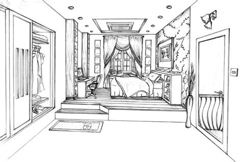 Drawing A Bedroom In One Point Perspective by One Point Perspective Drawing The Ultimate Guide