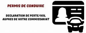 Cerfa Perte Permis De Conduire : que faire en cas de perte ou de vol de son permis de conduire ~ Gottalentnigeria.com Avis de Voitures