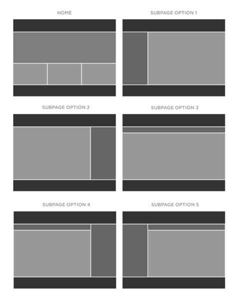 website wireframe template website wireframe templates