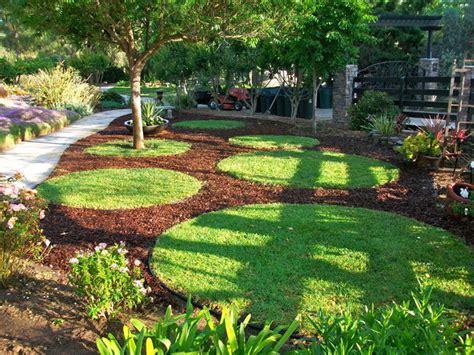garden circles contemporary landscape san diego