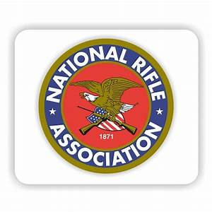 "NRA National Rifle Association Mouse Pad 9.25"" X 7.75"""
