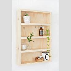 Diy Bathroom Storage Shelf Burkatron