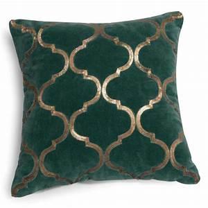 Housse De Coussin Velours : housse de coussin en velours vert 40 x 40 cm alazani cushion green velvet 2016 home ~ Teatrodelosmanantiales.com Idées de Décoration