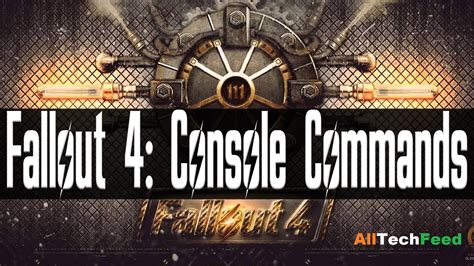 Console Commands For Fallout New Vegas by Fallout 4 Console Commands For Pc Fallout 4 Cheats Mods