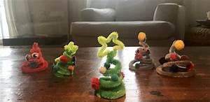 Weihnachtsbäume Aus Papier Basteln : mini weihnachtsb ume aus pfeifenputzern mit kindern basteln ~ Orissabook.com Haus und Dekorationen