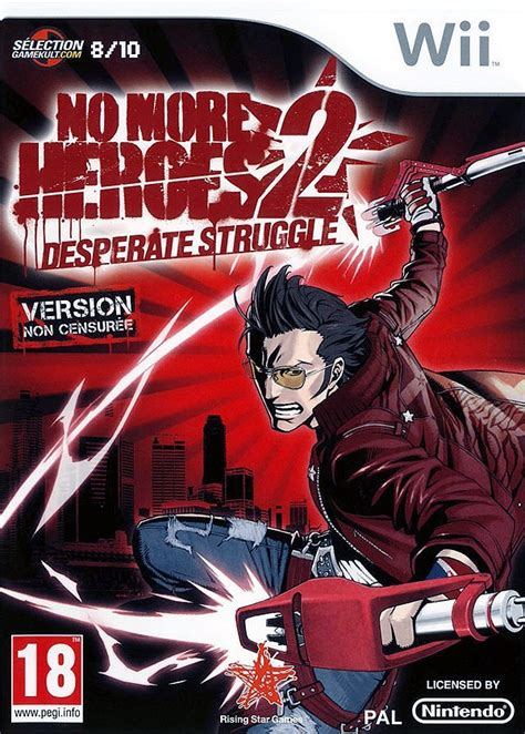 Test No More Heroes 2 Wii