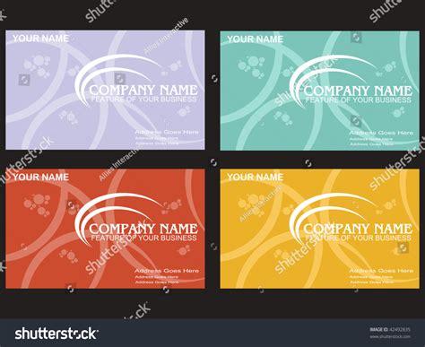 Black Background With Set Of Four Colorful Business Card Business Plans Of Famous Startups Model Canvas Romana Mk Narrative Building Blocks Quiz Plan Template Aib For Social Enterprise