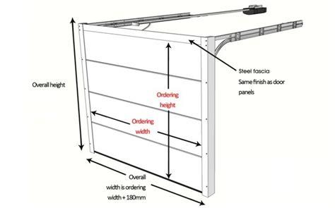 garage door height garage door sizes and measurements up and
