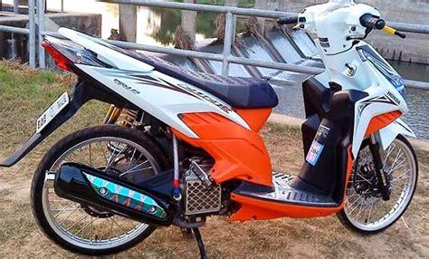 Harga Bore Up Mio 150cc Harian by 50 Gambar Modifikasi Supra X 125 Keren Antik Modif Drag