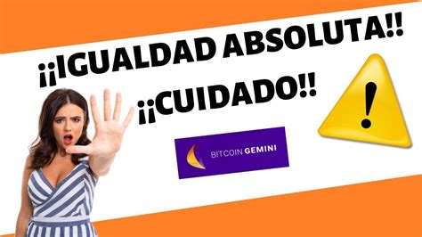 Check out this gemini review to learn everything you need to know about this cryptocurrency exchange. BITCOIN GEMINI es ⛔ESTAFA!!⛔ - OPINIONES IGUALES A BITCOIN RUSH - ⚠️REVIEW APP TRADING 2020⚠️ ...