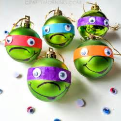 turtle ornaments craft crafty morning