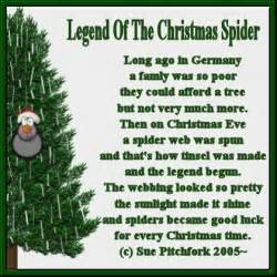 craftsayings com view topic poem tag legend of the christmas spider