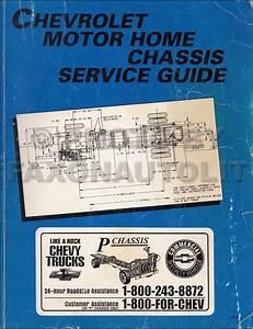 1995 Gmc  Chevy P3  Pg Forward Control Repair Shop Manual