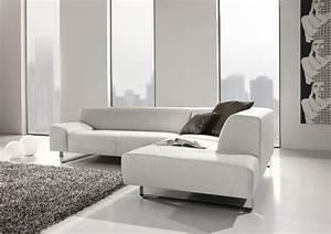 Canapé D Angle 5 Places : canap d 39 angle minimaliste 5 places en cuir m madonna ~ Teatrodelosmanantiales.com Idées de Décoration