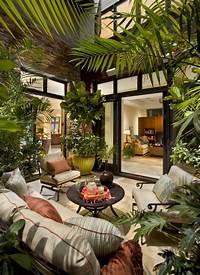 lovely seaside patio decor ideas Tipps für die richtige Pflege der Pflanzen im Wintergarten