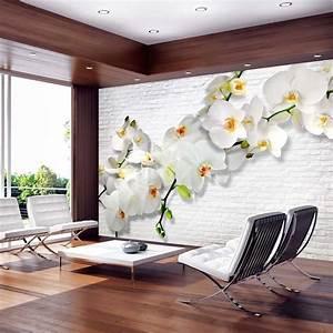 Papier Peint Deco : papier peint 3d cr ant un effet abstrait et trompe l il ~ Voncanada.com Idées de Décoration