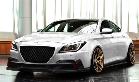 The sunroof, large rear windscreen and side windows make the genesis coupe one of the least claustrophobic coupes on the market. ARK previews 2015 Hyundai Genesis V8 project ...