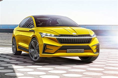 Skoda electric models to stand out with unique lightstrip ...