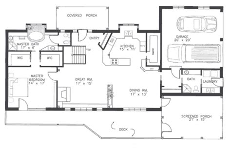 find my floor plan gallery for gt ranch style floor plans with basement