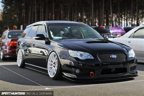 subaru legacy stance master of stance japan does it best speedhunters