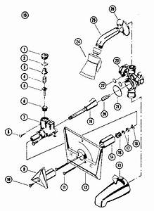 Kenmore Model 2542097 Faucet Genuine Parts