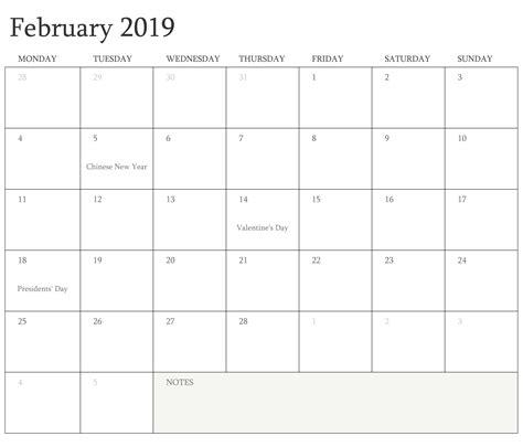 february calendar philippines