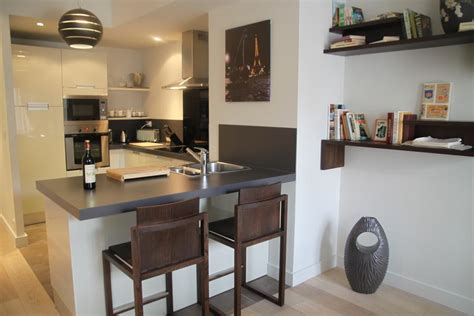 deco de cuisine déco cuisine table haute exemples d 39 aménagements